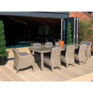 Meteor 8 Chair Dining Set