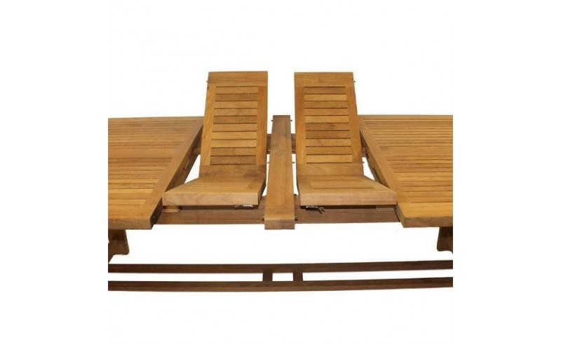 Chunky set with 3M Teak table