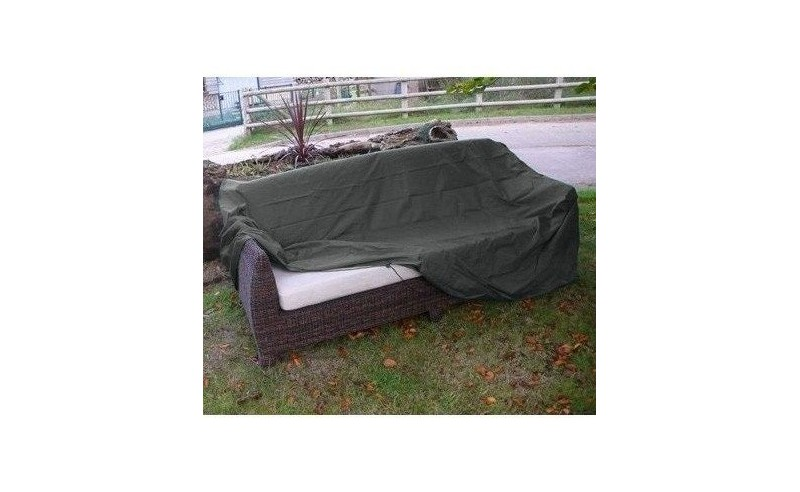Outdoor Rattan 3 seater sofa weather cover