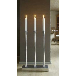 Empire candle holder