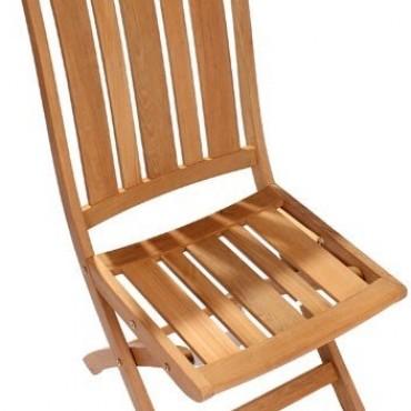 Kingsbury folding diner chair