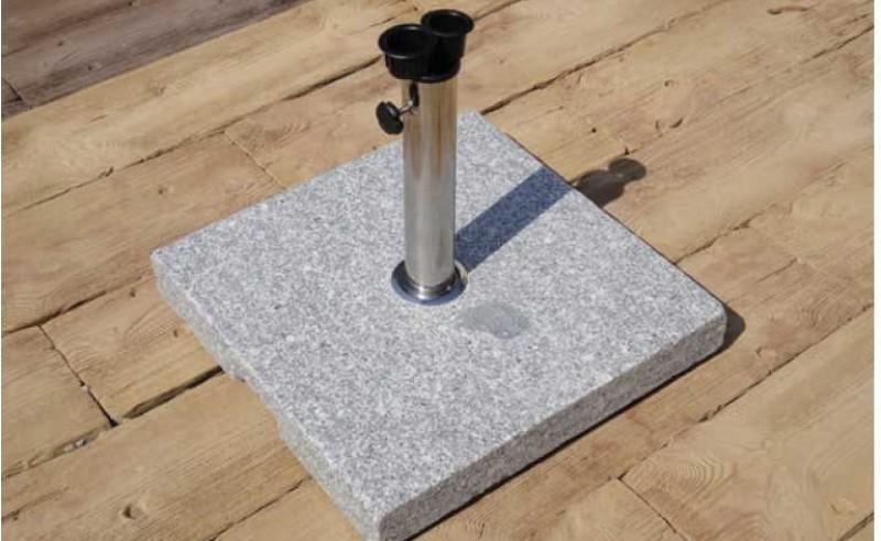 Parasol Base Burnt Stone Granite - 40kg