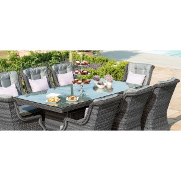 Victoria 8 Seater Rectangular Dining Set