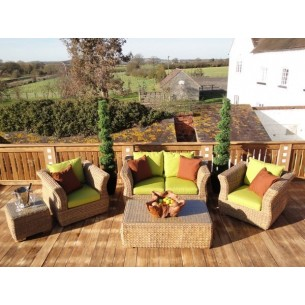 Montana 2 seater sofa suite - outdoor