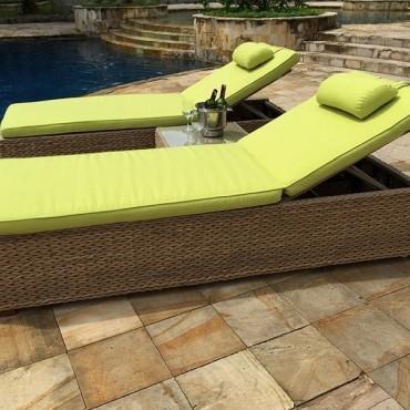 Montana & Fiji Sun Lounger | Replacement Cushion