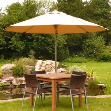 Platinum parasol - 250cm diameter
