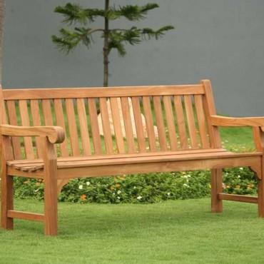 Richmond Garden Teak Bench 1.8m