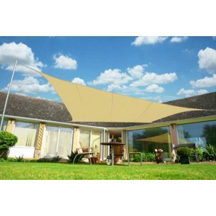 Shade Sail Lux 5m x 4m Rectangle Breathable
