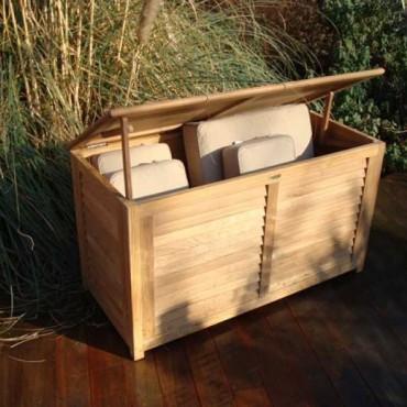 FSC Certified 1.5m Teak Cushion Box