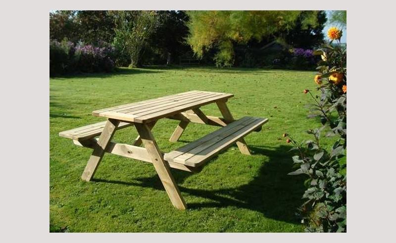 Sherwood FSC picnic table - 180cm