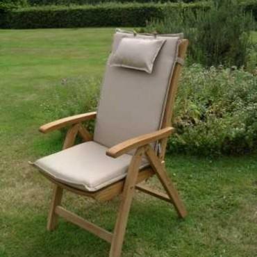 Recliner outdoor cushion - bedrock