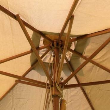 Diamond parasol - 300cm x 200cm rectangular