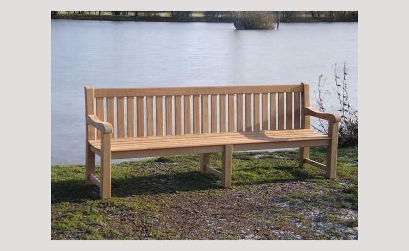 Britannia teak bench - 240cm