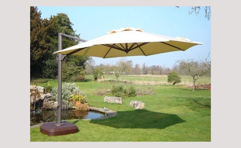 Cantilever parasol - Roma 3.5m dia